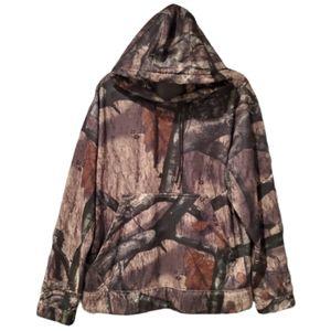 RedHead Mossy Oak Camo Sweater Medium Size